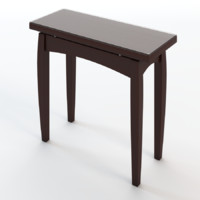 console table 3d 3ds