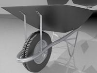 maya wheel barrow