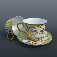 maya tea set