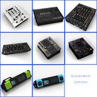 Dj Audio Mixer Collection