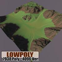 level terrain 3d model