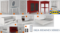 3d ikea hemnes 13 pieces
