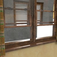 USA Style Sliding Wooden Window
