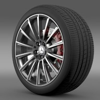 AMG Mercedes Benz S 350 wheel