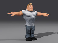 3d arnold characters toon