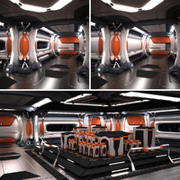 3ds max space spaceship