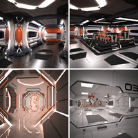 Scifi Spaceship Collection 03
