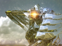 3d transformers character model