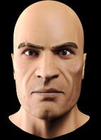 3d max male head