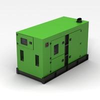 generator green 3d max
