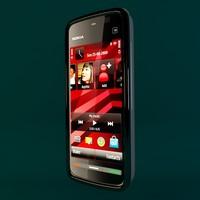 3d phone electronics button model