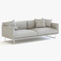 3d model mdf italia hara sofa