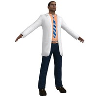 3d model of doctor games