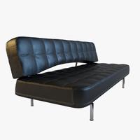 3d sofa bonaldo pierrot