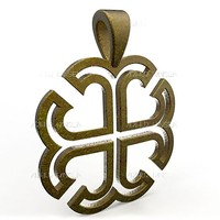 pendant france cross obj