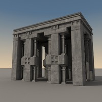 ancient fantasy building 3d max