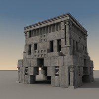 ancient fantasy building max