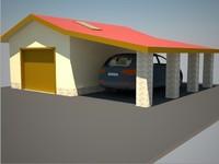 garage 3d max