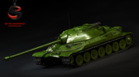 3d ussr heavy tank is-7