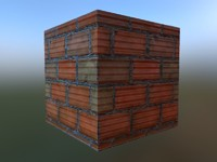 Tileable Brick Texture And Brick Model