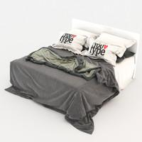 bed 2 3d