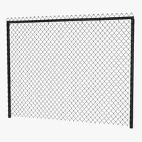 3ds chain link fence
