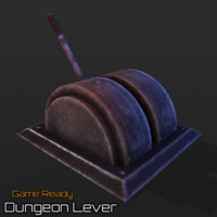 3d ready dungeon lever model