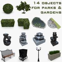 3d garden park