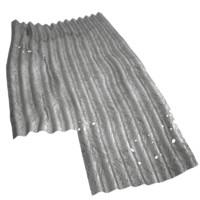 3d corrugated metal