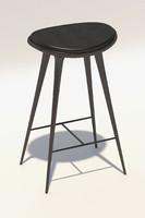 3d mater bar stool