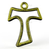 pendant st anthony cross-cut 3d obj