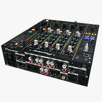 DJ Mixer Pioneer DJM-850 Black