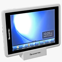 tablet pandigital t2-70fw 3d model