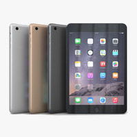 3d model apple ipad mini 3