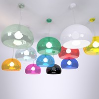 fl y suspension lamp 3d max