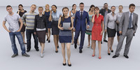 3dhumanity citypeople collection x15 Pack
