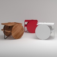 Casamania Chariot Mobile Table