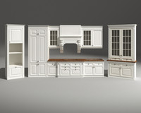 classic kitchen «giotto» 3d 3ds