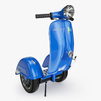 3d segway vespa model