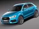 Audi Q3 3D models