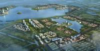 modular city planning 3d model