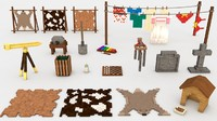 3d minecraft decorations pack