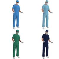 Surgeons LOD 1 Rigged Pack
