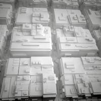 3d cityscape landscape town city
