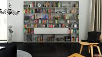 c4d b bookcase 11 -