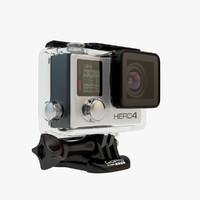 camera pro 4 3d model