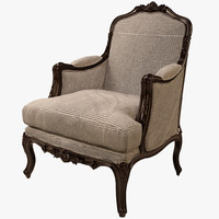 eichholtz chair french 3d max