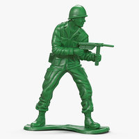 maya toy soldier modeled