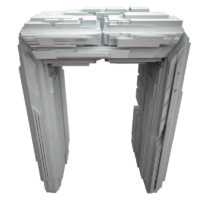 3d model gate sci fi