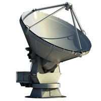 3ds max alma radio telescope